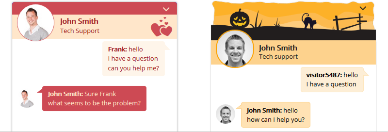 hubtalk chat templates